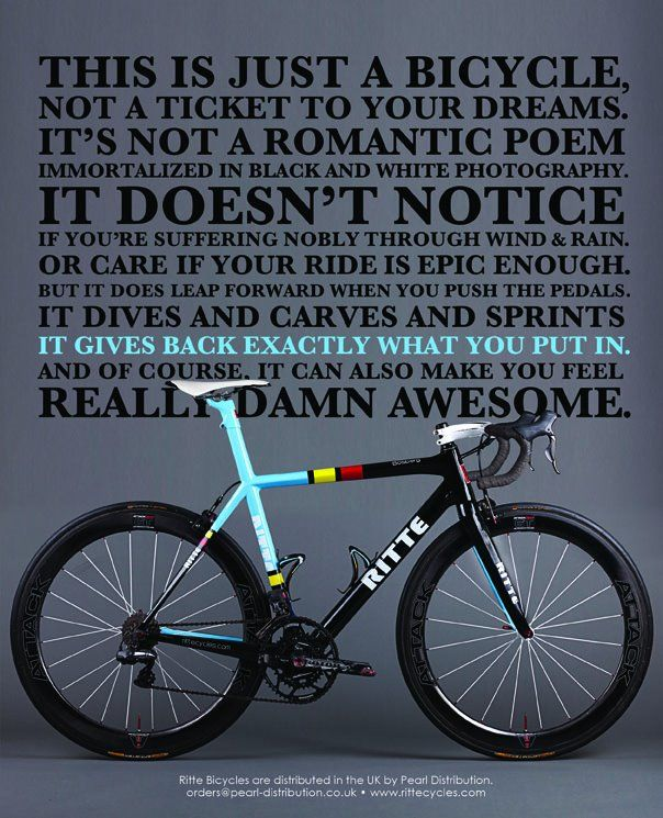 Bike Quotes: 68 Best Images About Cycling Quotes On Pinterest