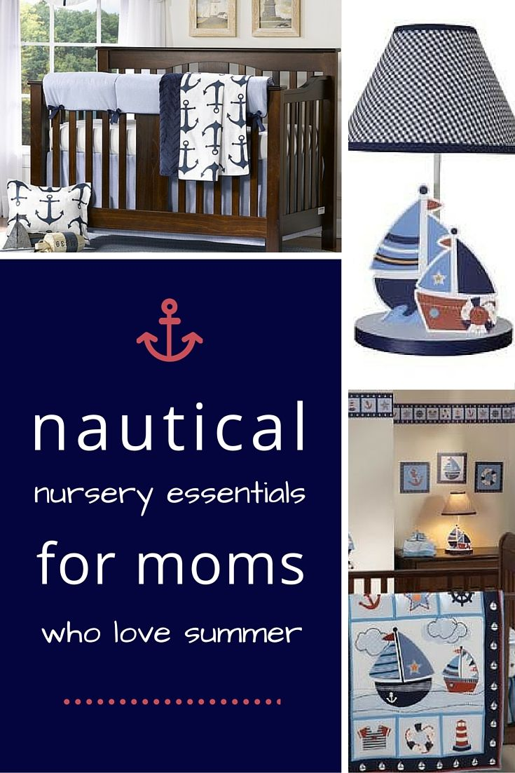 Nautical Baby Bedding, Cribs, Lamps, Decor U0026 More Available At BambiBaby.com