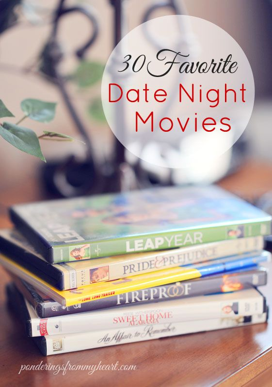 30 Favorite Date Night Movies