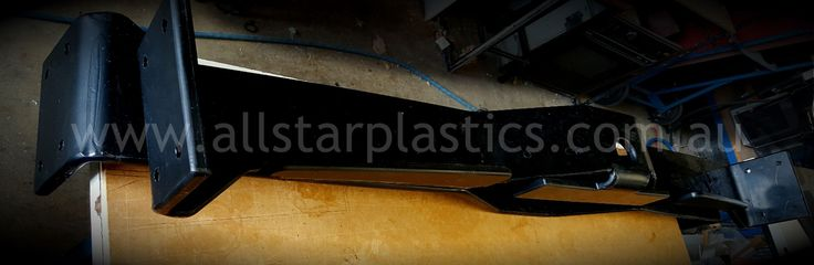 HDPE bumpers for raceway track.
