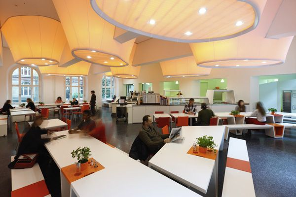 Ineffectual Effigy: May I Be Obsessed With Cafeteria Design