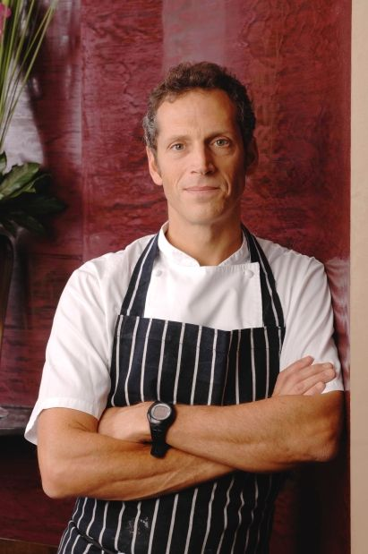 Chef Phil Howard, head chef and co-owner of the two-Michelin-starred The Square, in London, prepares a six-course menu at Hawksworth restaurant Feb. 28 and March 1.