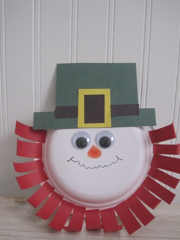 St. Patrick's Day Craft for Kids: Paper Plate Leprechaun | Suite101