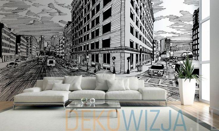 Fototapeta do salonu z Hotelem na rogu w Nowym Jorku