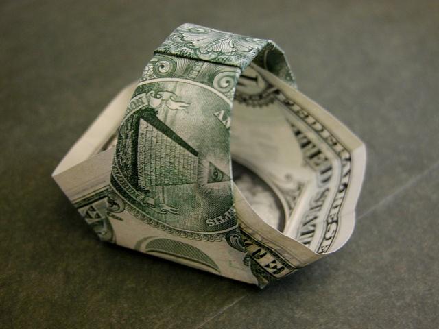Dollar bill basket  click on link for instructions
