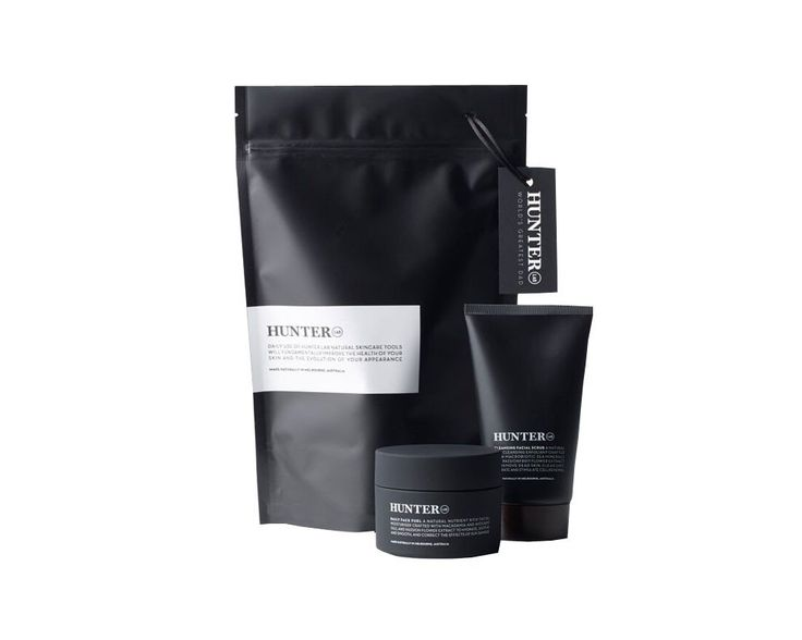 Hunter Lab Essentials Set at EcoHaven. Men's skincare made in Australia