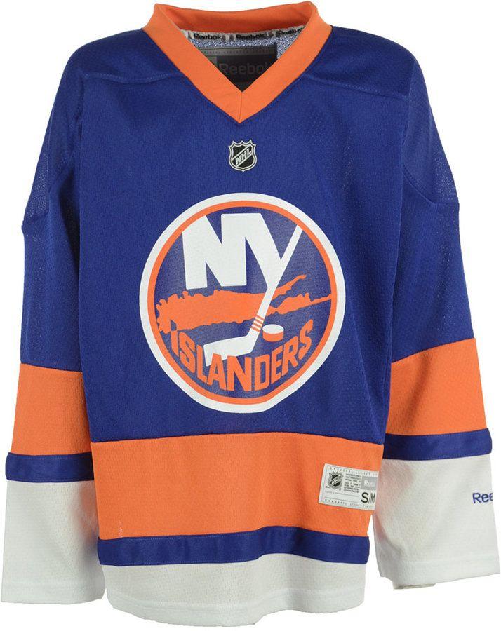 Reebok New York Islanders Replica Jersey, Big Boys (8-20)