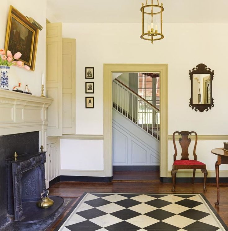 Restoring a Historic Federal House in Maryland   Old House Restoration, Products & Decorating