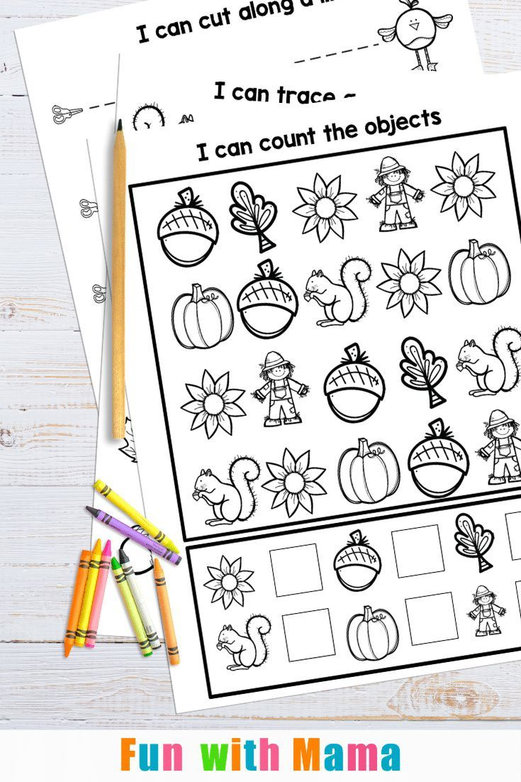 Fall Worksheets For Preschool Free Printable Package Fall Worksheets Free Preschool Fine Motor Activities For Kids [ 1102 x 735 Pixel ]