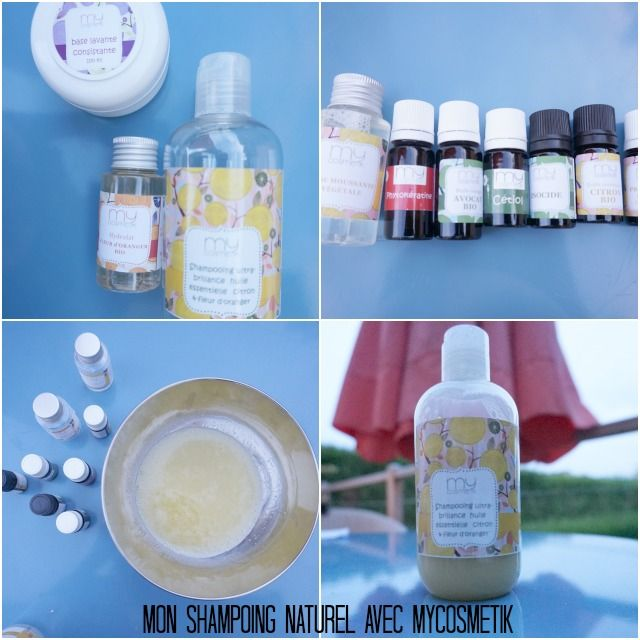 Créer son shampoing naturel bio avec My cosmetik / mon test sur shampooing ultra brillance withalovelikethat.fr