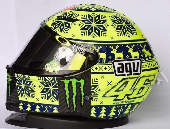 Casco AGV Pista GP Valentino Rossi Winter 2015 Lateral izquierdo
