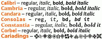 Vista Cleartype Fonts