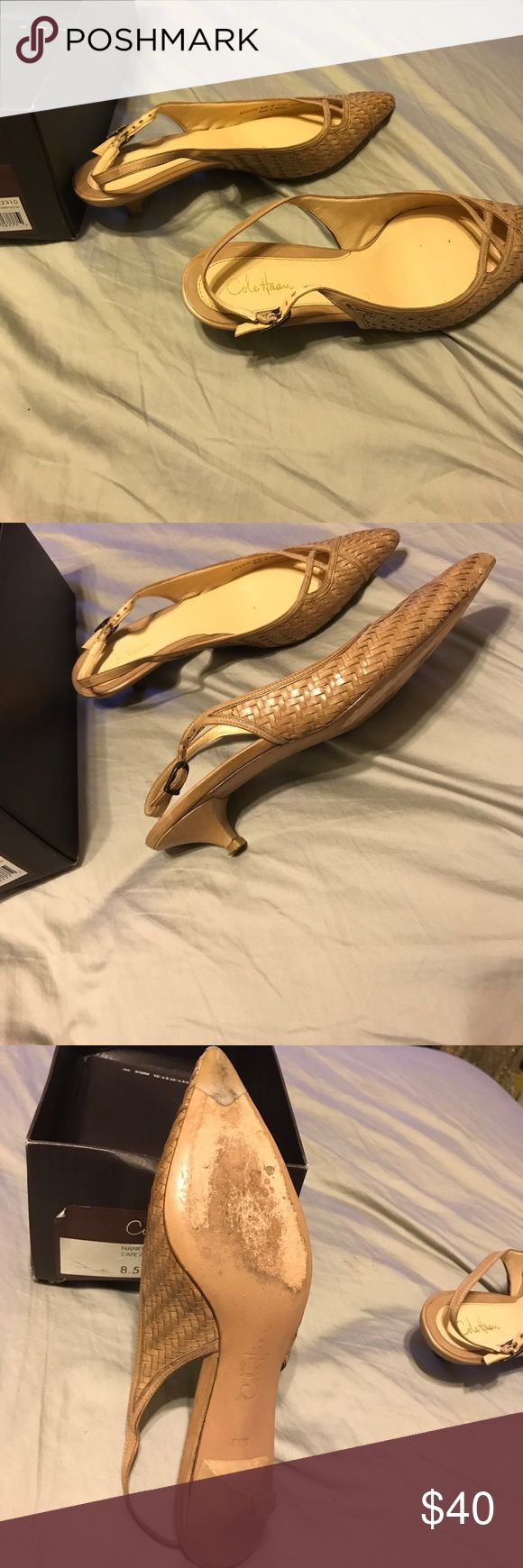 Cole Hann shoes Shoes, used, but in excellent condition Cole Haan Shoes Heels