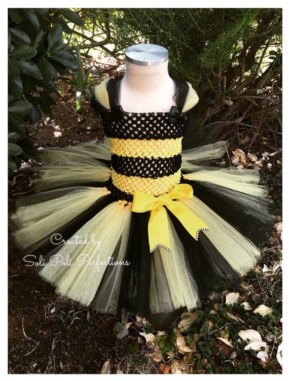 Bumble Bee Costume Bumble Bee Tutu Bee Tutu by SoliPoliPerfections