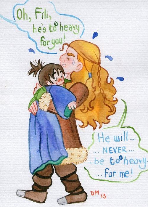 Best Kili Images On Pinterest Middle Earth Books And Cartoons - Sad production hobbit reveals something never imagine