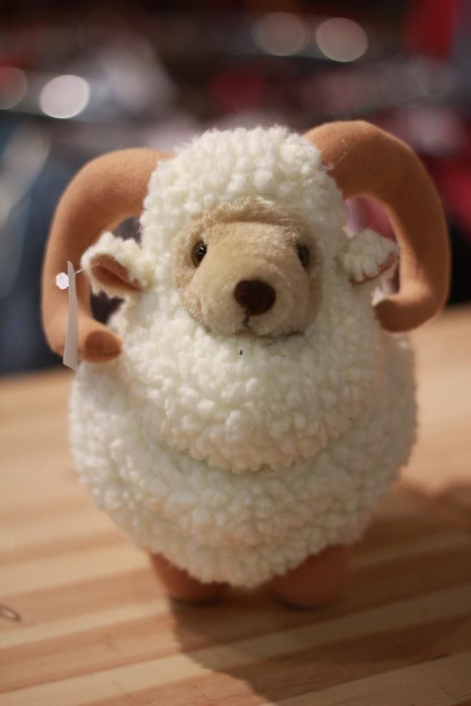 Leksak, får; Toy, sheep