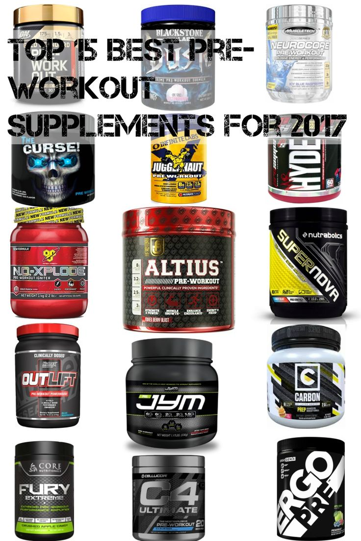 Take your training to the next level.  View the Top 15 Best Pre-Workouts for 2017: http://www.supplementreviewshark.com/best-pre-workout-supplements/