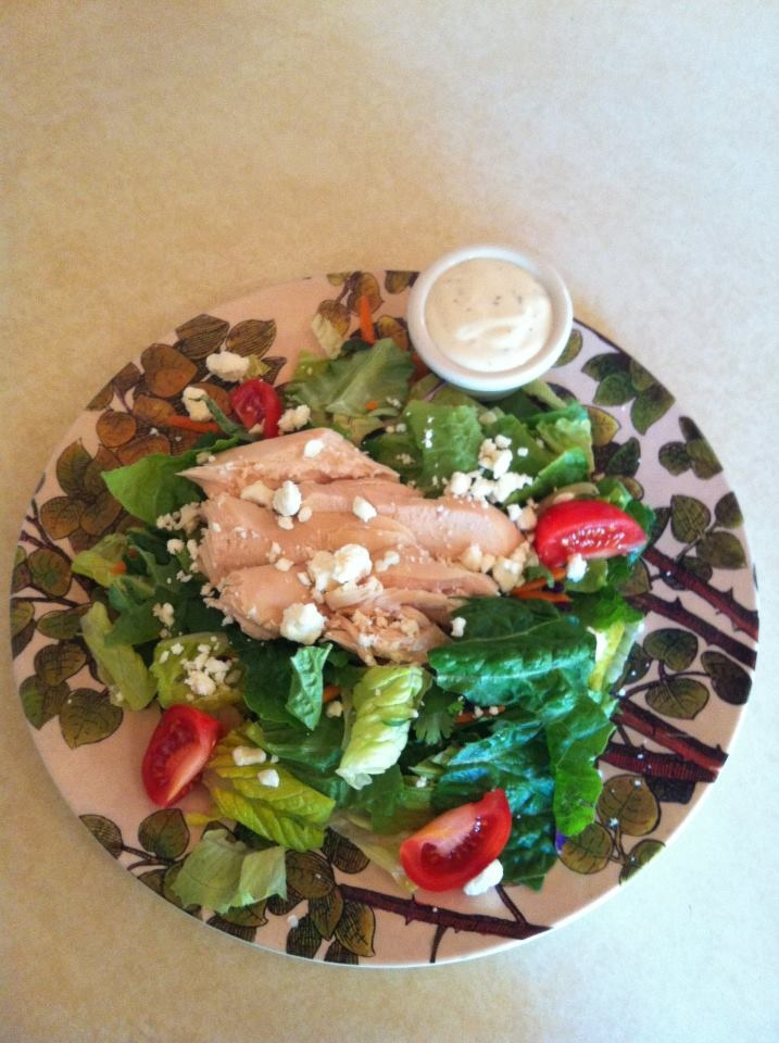 chixn ranch salad | Diet | Pinterest | Salads and Php