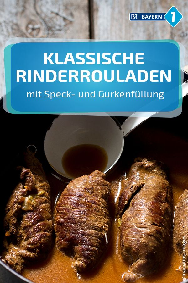 Rinderrouladen: Rezeptideen für Rouladenfüllungen   Bayern 1