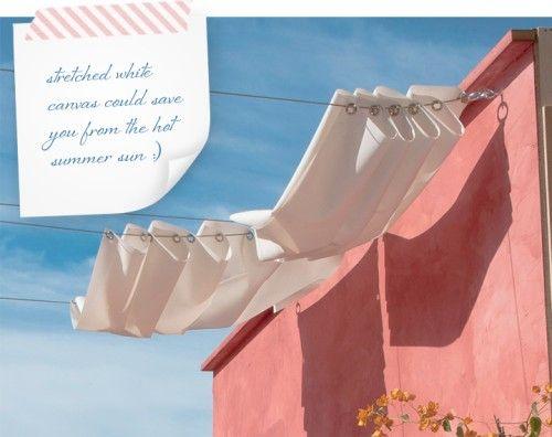 jardin exteriores : Colorida Terraza con Ideas de Decoración