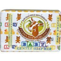 Tierra Mia Organics, Raw Goat Milk Skin Therapy, Baby, Gentle Soap Bar, 4.2 oz - iHerb.com