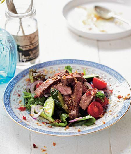 Lemongrass Beef Salad - Diabetes Recipe Book