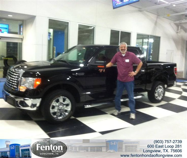Congratulations to Peter Austin on your #Ford #F-150 purchase from Raul Hernandez at Fenton Honda of Longview! #NewCar