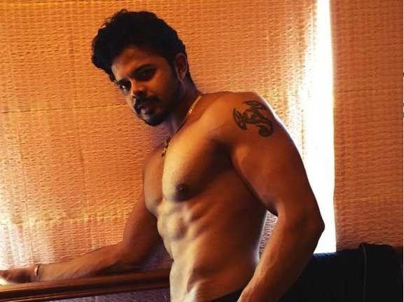 cricketer hero mollywood sreeshanth six packs stills