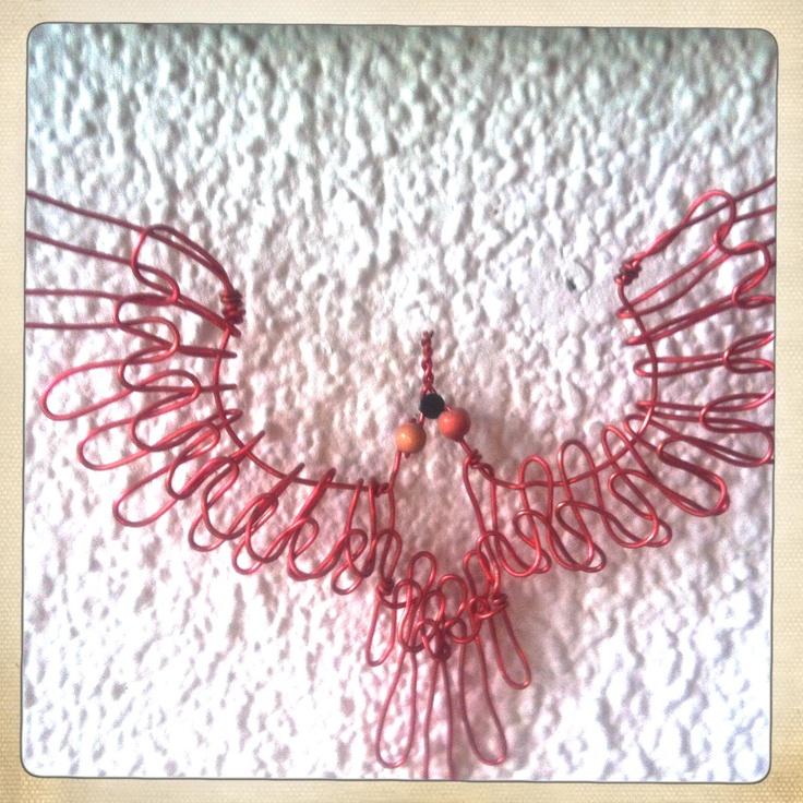 bird, electric wire, Ida Exner 2008