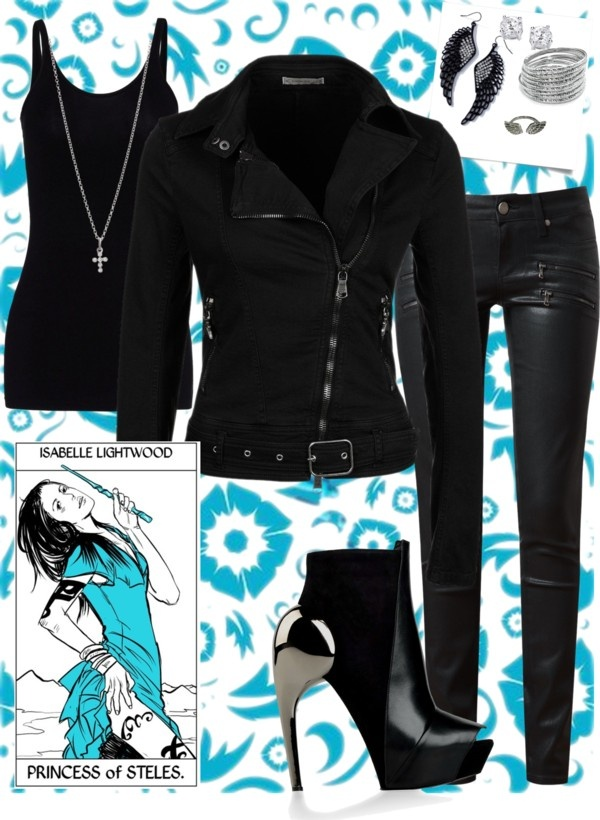 """""""ChicGeek: Isabelle Lightwood"""" by cherean-cierra ❤ liked on Polyvore"""