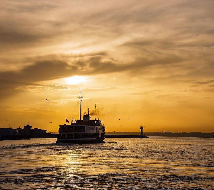 Just the magical ferry ride between two continents is enough to put the spell of Istanbul over you!  #TurkeyHome #TwoContinents  Photo by @nudi02 by turkey_home