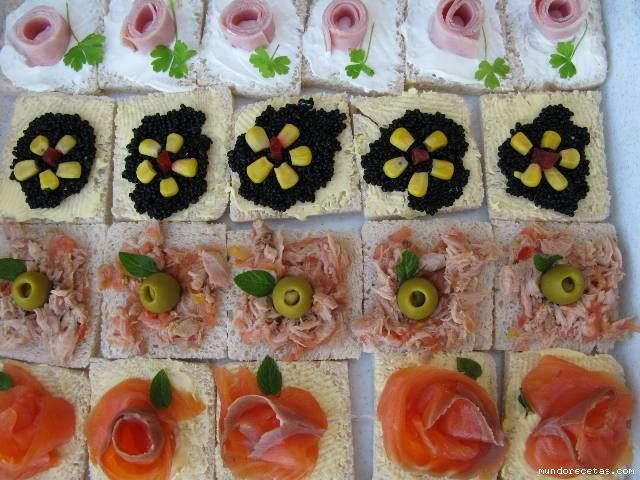 17 images about canapes on pinterest navidad sons and for Recetas para canape