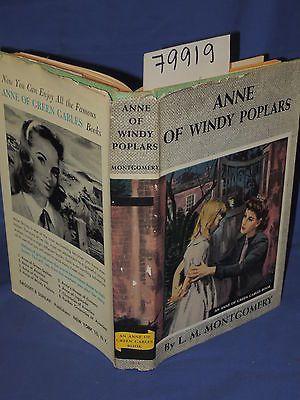 Anne of Windy Poplars - L.M. Montgomery 1950s edition, Book 4