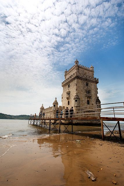 Torre de Belem (Belem Tower) Lisbon, Portugal
