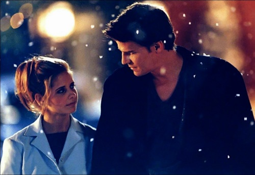 Angel and Buffy ..... I use to watch buffy the vampire slayer all the time!!!!!!