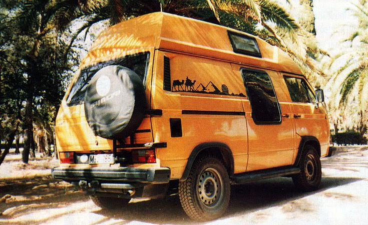 The rarest of the rare campers...a Series VII Vanagon Syncro Adventurewagen. They probably made all of 2 of these.
