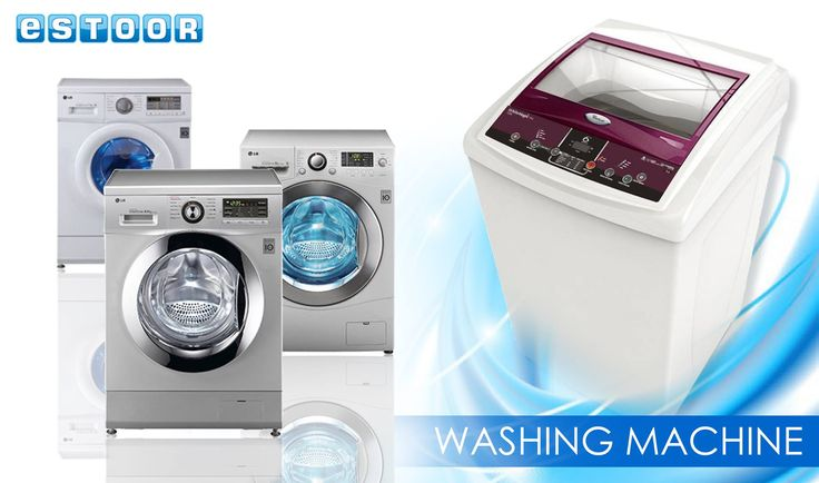 Amazing Offers On Washing Machines @ eSTOOR.com