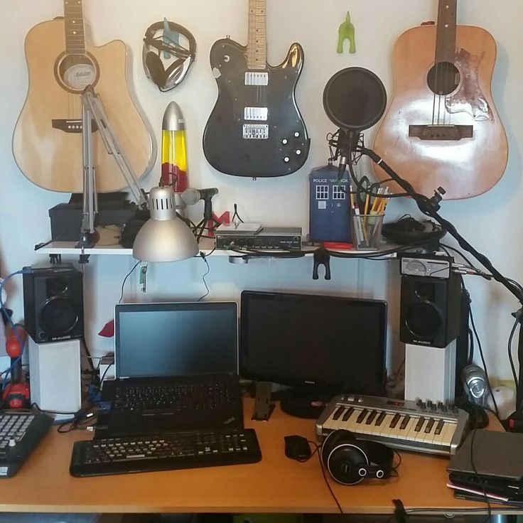 Spot the difference! Updated #homestudio #recordingstudio #creativity