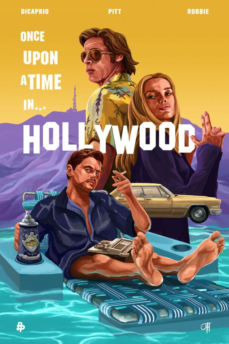 "The Poster Posse Tackles Tarantino's ""Once Upon A Time In Hollywood"" – P…"