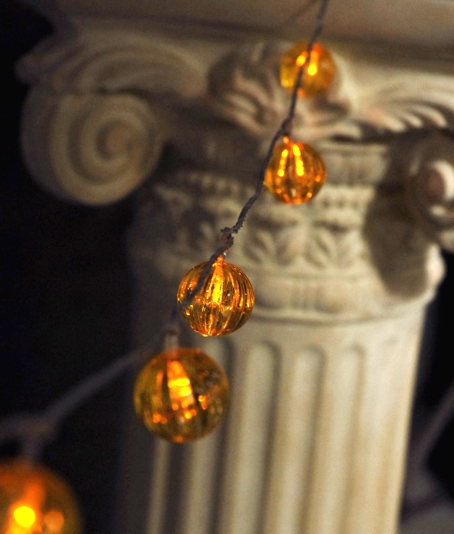 Gold Globe String Lights : 17 Best images about String Globe Lights on Pinterest Mercury glass, String lights and Dance ...