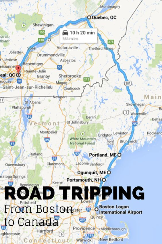 Road Tripping from Boston MA to Canada and all the adventures in between.