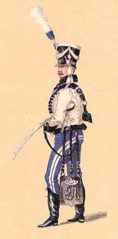Bavaria: NCO Freiwillige Hussars: 1813