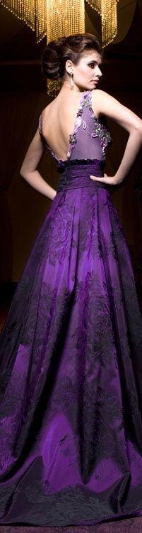 beautiful purple