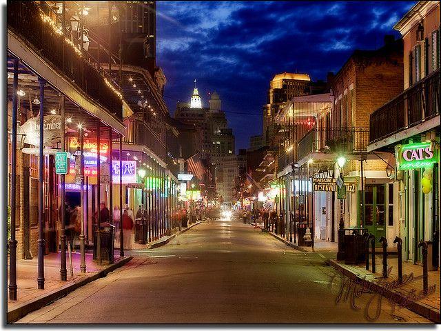 Bourbon Street [New Orleans, Louisiana]   Travel Photos   Louisiana   Travel   Beauty