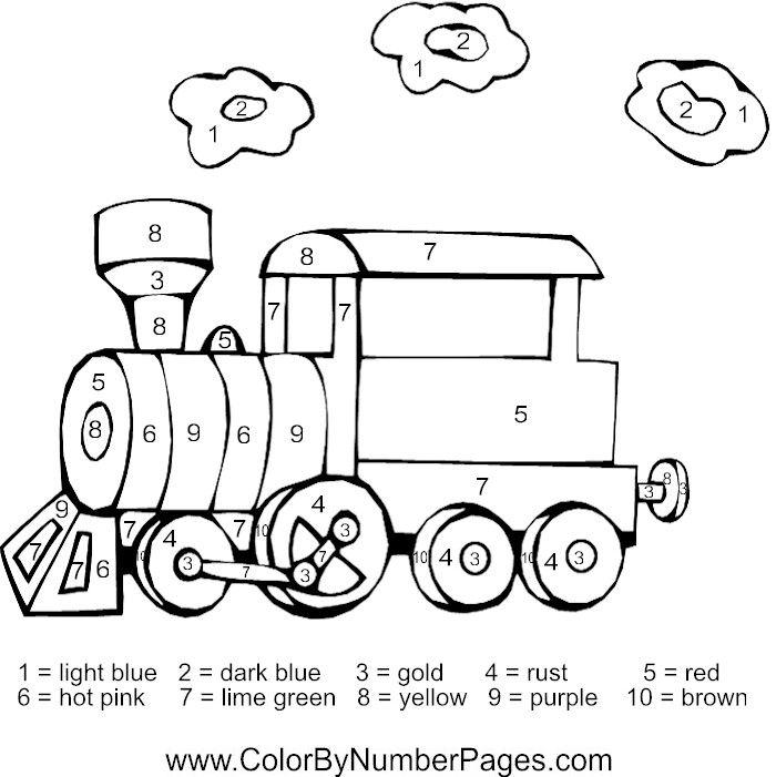 Number 9 Coloring Sheet : 87 best color by number images on pinterest