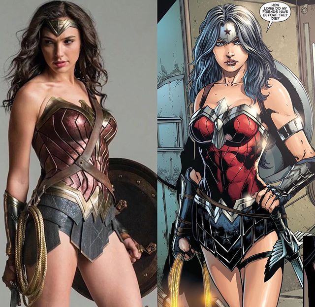 #BatmanVSuperman: Wonder Woman - Movie - Batman V Superman: Dawn of Justice Comic - Justice League #36 (2014)