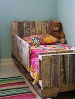 Toddler Bed from Reclaimed Wood, toddlers bed,twin size beds,childrens,diy,free woodworking plans,free projects,do it yourself