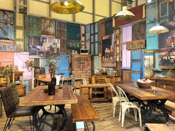 Hyatt Industrial Dining and Avalon Urban Farmhouse at the NEC 2016