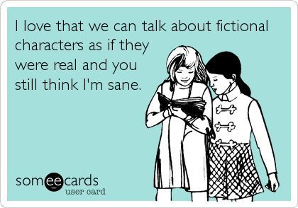 We bookworms are lucky to have book clubs, a.k.a. fellow book lovers that understand the importance of our book boyfriends