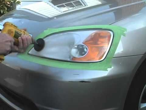 how to clean and restore foggy headlight lenses youtube misc pinterest foggy headlights. Black Bedroom Furniture Sets. Home Design Ideas